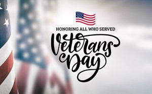 Veteran's Day Holiday - article thumnail image